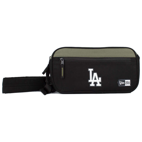 Los Angeles Dodgers Cross Body Bag (Black/OLive)