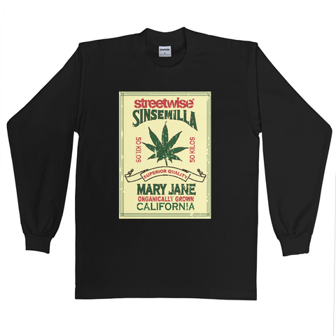 Sinsemilla Long Sleeve (Black)