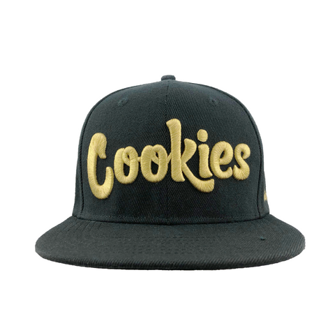 Original Logo Snapback (Black/Gold)