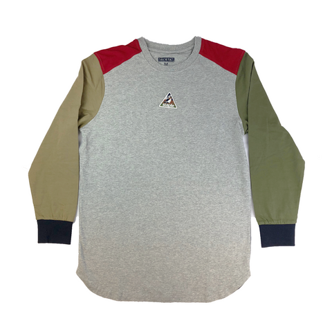 OUTDOOR COLORBLOCK LONG SLEEVE