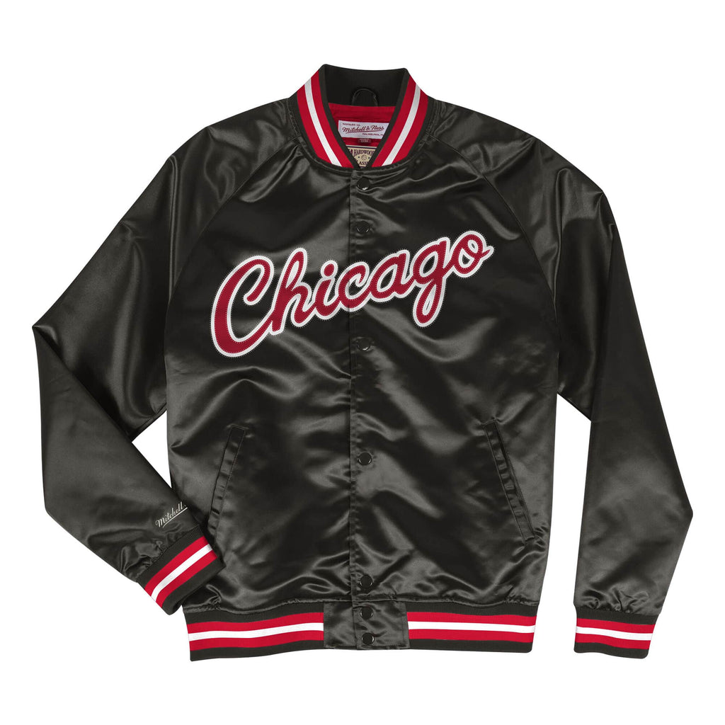 Chicago Bulls Lightweight Satin Jacket