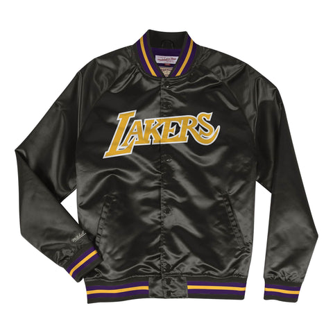 Los Angeles Lakers Lightweight Satin Pullover Jacket