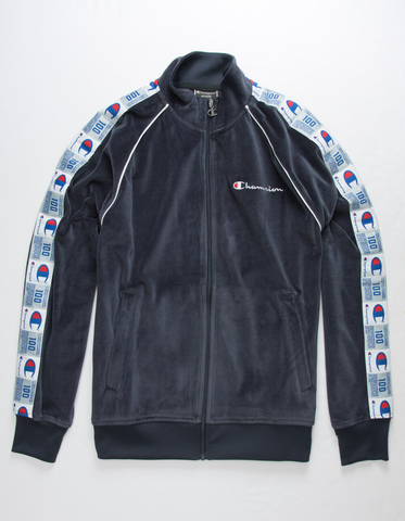 Champion Life® Men's Velour Track Jacket
