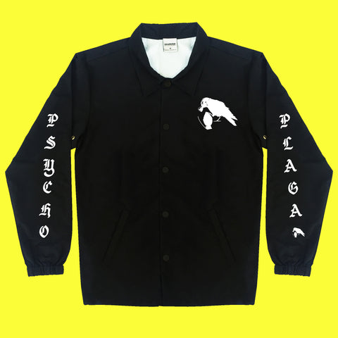 Psycho Plaga Coach Jacket (Black)