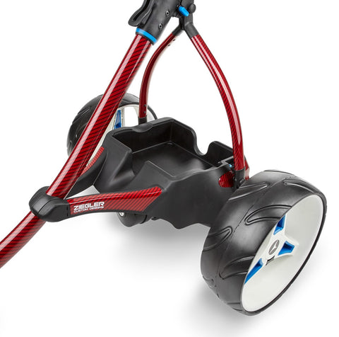 Motocaddy Ziegler S3 PRO Red Carbon Fibre