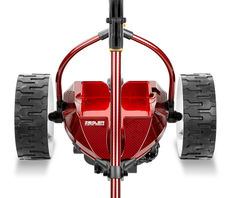 Motocaddy Ziegler S7 Remote Red Carbon Fibre