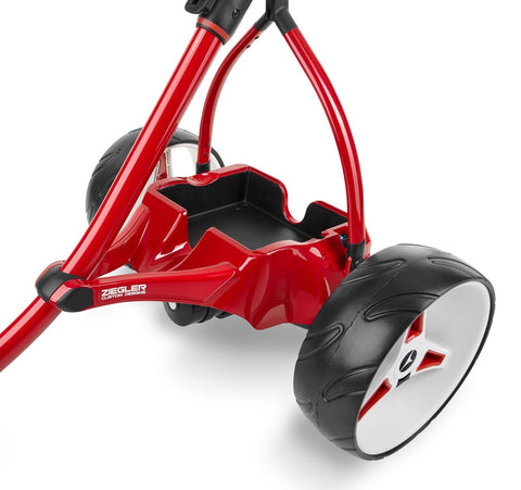Motocaddy Ziegler S1 Pearl Red (Painted Tray)