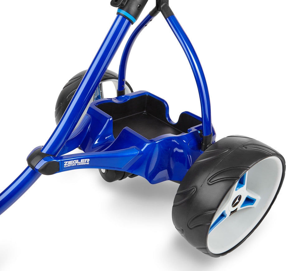 Motocaddy Ziegler S3 PRO Pearl Blue (Painted Tray)