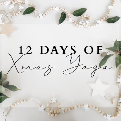 12 Days of Xmas Yoga