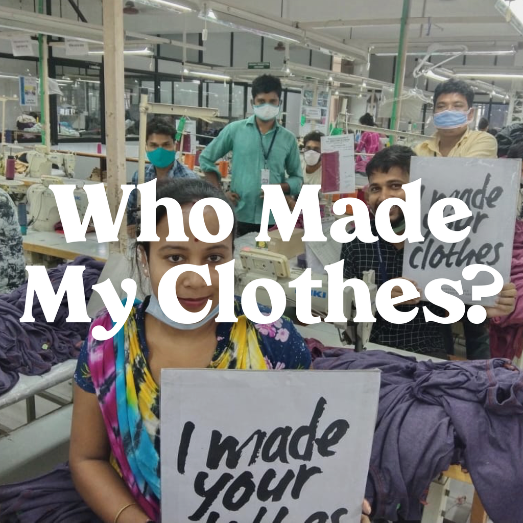Who Made Your Clothes: The Beautiful People Who Create Our YPC Pieces