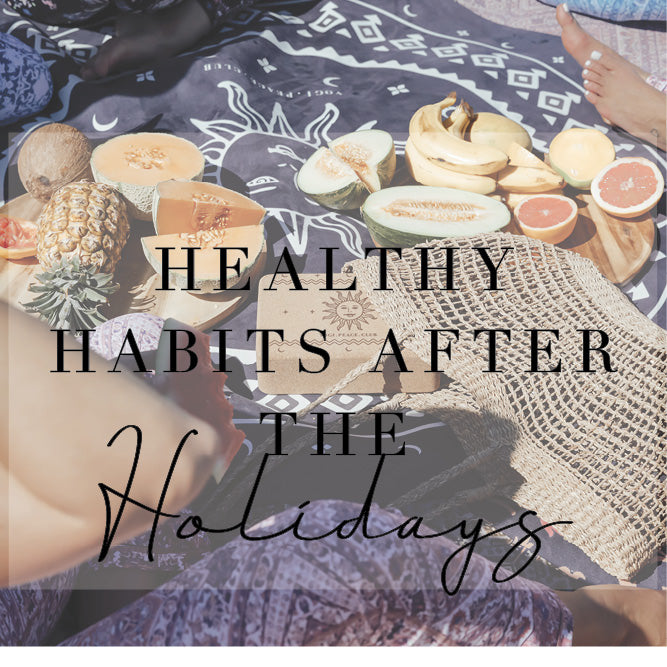 Yoga and healthy habits after the holidays