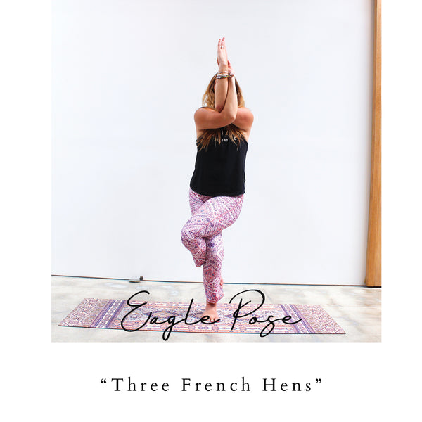 yogi peace club printed yoga mat eco friendly