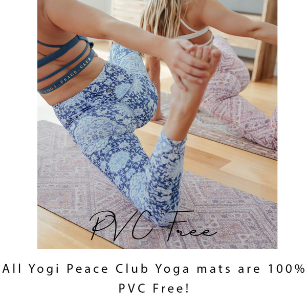 yogi peace club eco yoga mats pvc free why pvc is harmful