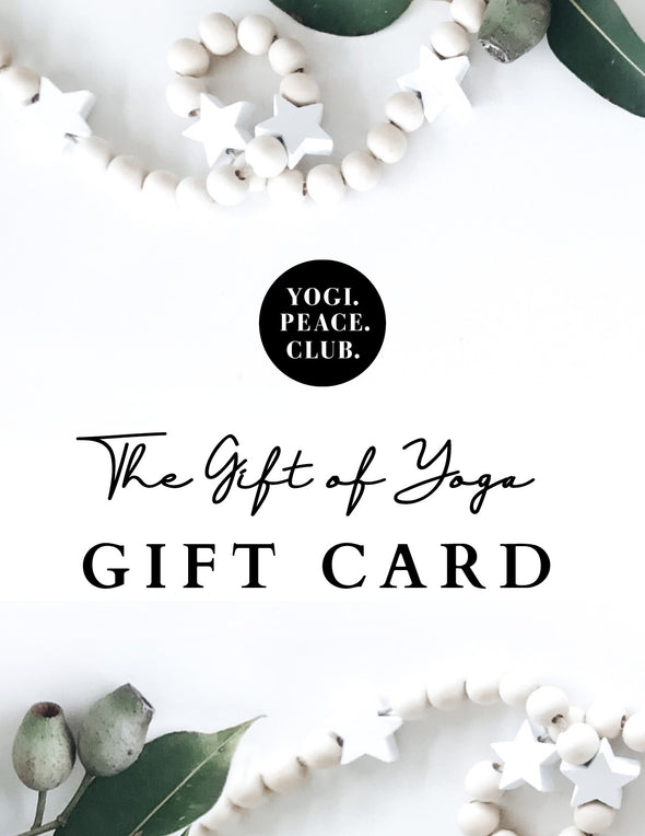 Yogi Peace Club Gift Card
