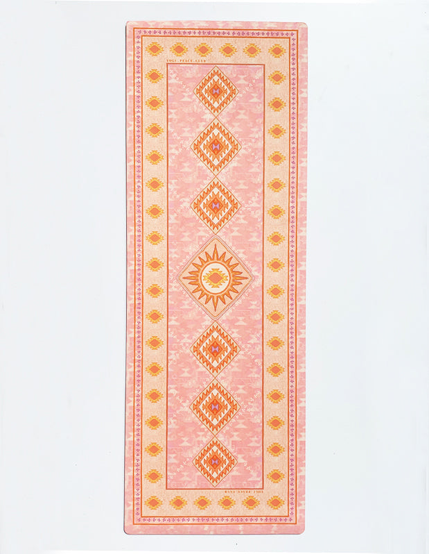 Sunstone Yoga Mat + Block Pack