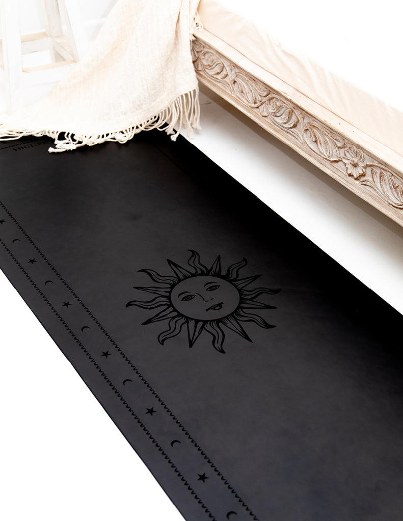 Oracle Ultimate Black Yoga Mat + Block Pack