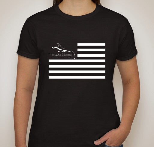 The United States Of The Caribbean Women's Black Out Shirt
