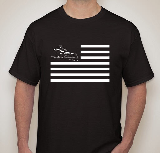 The United States Of The Caribbean Men's Black Out Shirt