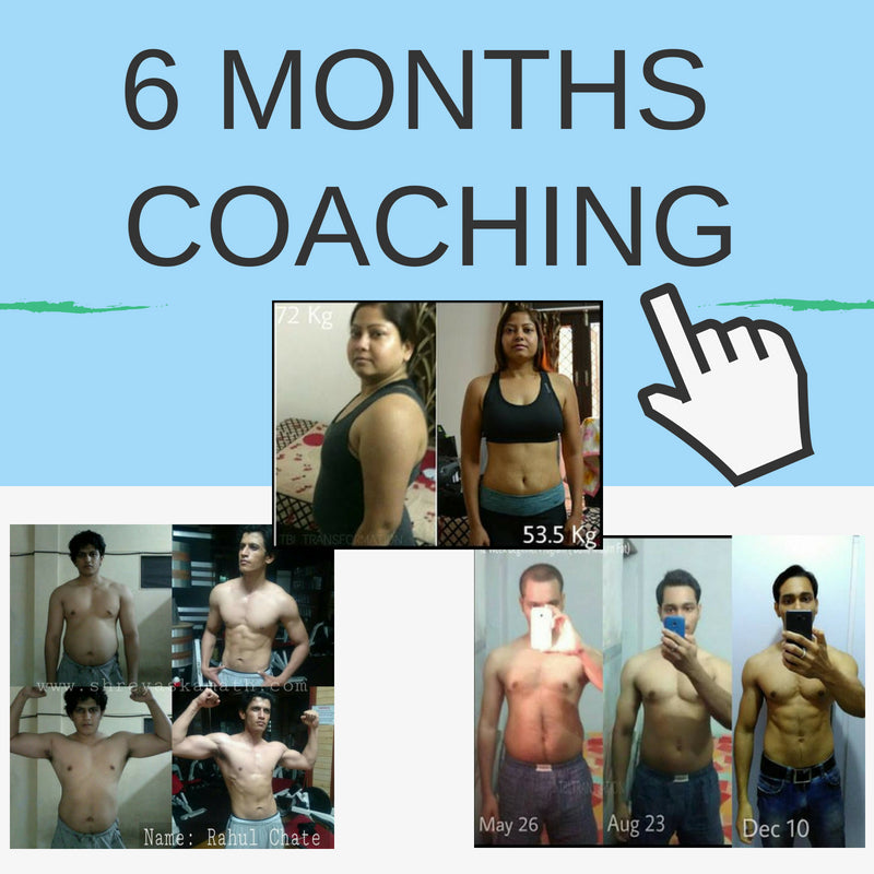 6 Months Program [Fat loss or Muscle building or Both]