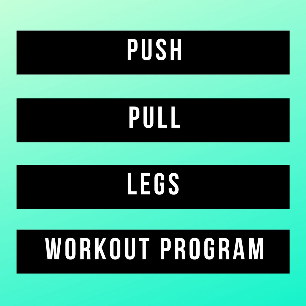 Push Pull Legs Workout Split [No diet plan Included]