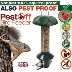 The Reason the Squirrels Are Fatter in your Neighbour's Garden: They Don't Have the PestOff Bird Feeder