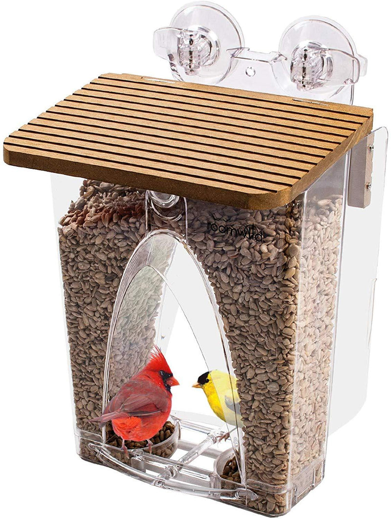 Roamwild Arch Window Wild Bird Feeder
