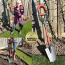 Roamwild Multi-Digger Fibreglass Light Weight Garden Digging Spade
