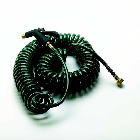 coil hose with spray gun