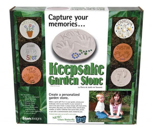 Keepsake Garden Stone Kit - Makes A Great Gift