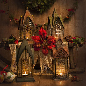 Architectural Candle Lantern Range - Decorative Table Candle Holder Lanterns
