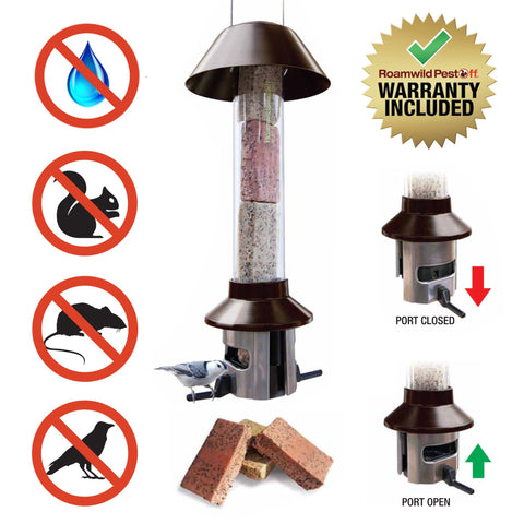 #1 Squirrel Proof Suet Cake / Suet Ball / Fat Ball Bird Feeder - PestOff - NEW PRODUCT