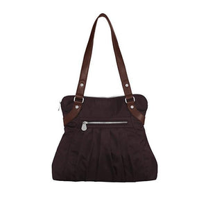 Luggage Leather Trim Audrey Satchel - Baggallini