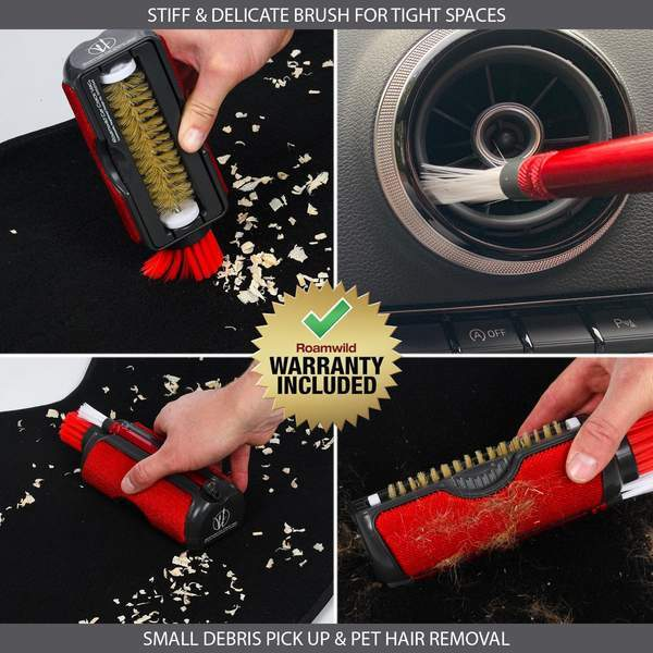 Roamwild Car Crack Vac – All In One Car Interior Tool