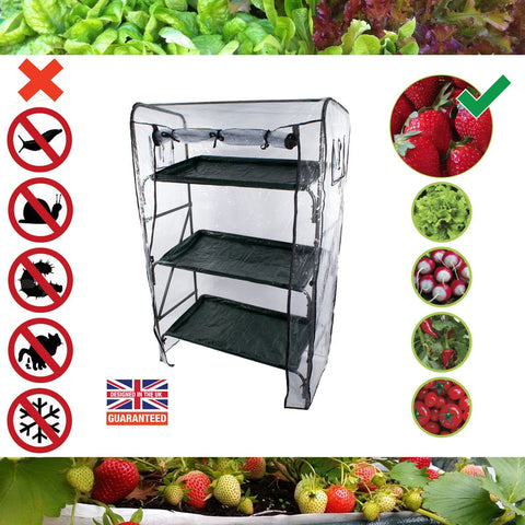 Home Farm Grow Tower - Easy, Pest Free & Clean Grow Your Own System