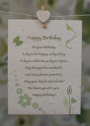 Plant-it-cards - Pack of 6 - Occasions themed greetings cards