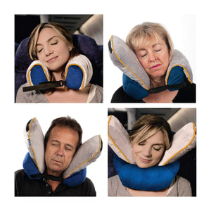 Roamwild Surround Travel Pillow AIR | Inflatable Neck Support Pillow