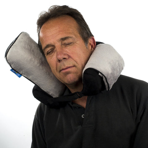 Roamwild Surround Travel Pillow - Black & Gray