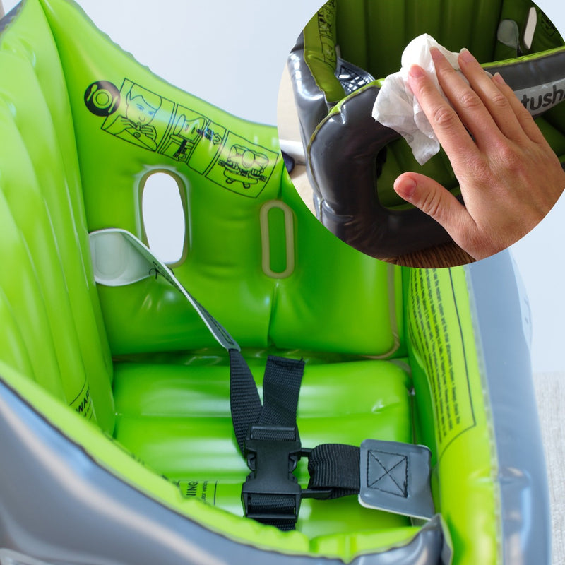 Roamwild Airtushi - The Inflatable Travel Highchair - Easy to Clean & Safe