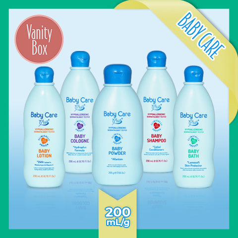 Baby Care Plus Blue 200mL