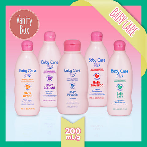 Baby Care Plus Pink 200mL