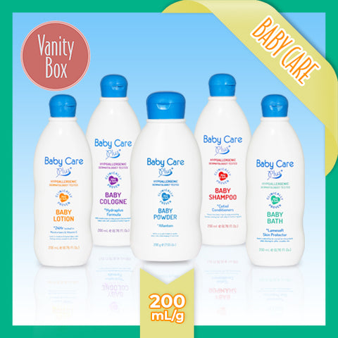 Baby Care Plus White 200mL