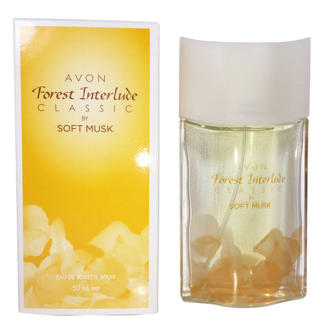Avon Forest Interlude Classic by Soft Musk for Women 50mL
