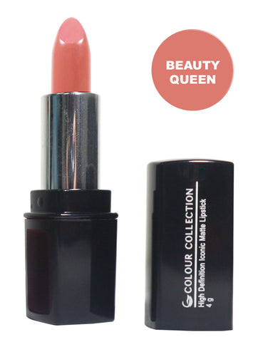Colour Collection High Definition Iconic Matte Lipstick Beauty Queen