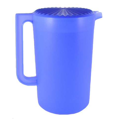 Tupperware Large Beverage Pitcher Blue Iris