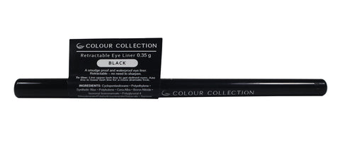 Colour Collection Retractable Eyeliner Black 0.35 g