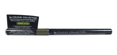 Colour Collection Retractable Eyeliner Burnt Olive 0.35 g