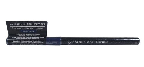 Colour Collection Retractable Eyeliner Deep Navy 0.35 g