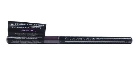 Colour Collection Retractable Eyeliner Deep Plum 0.35 g