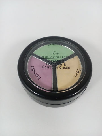 Colour Collection Vitamin E Concealer & Corrector Cream 3g