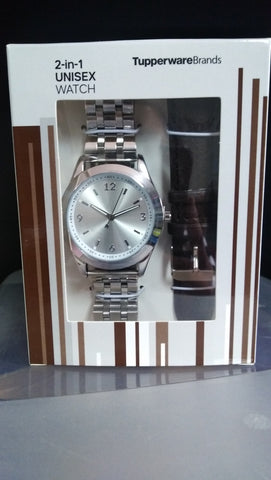 Unisex 2 in 1 Watch